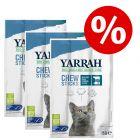 Extra voordelig! 9 x 5 g Yarrah biologische kauwstaafjes