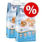 Extra voordelig! 2 x 14 l Tigerino Nuggies Kattenbakvulling