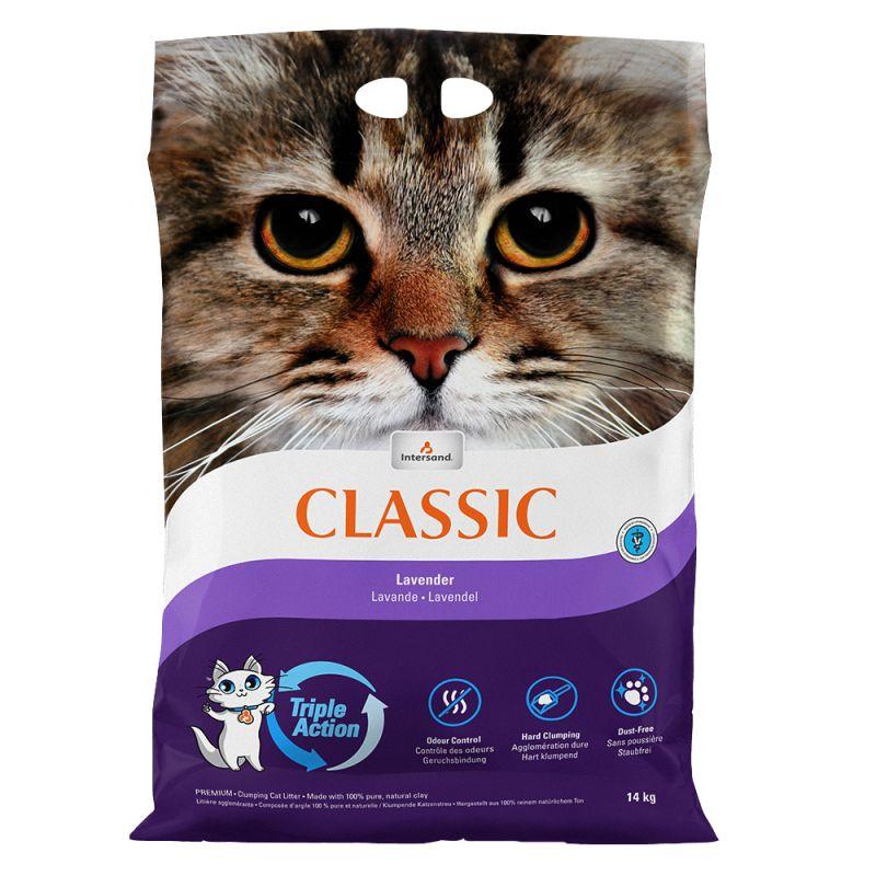 Extreme Classic kattesand med lavendelduft
