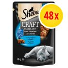 Fai scorta! Sheba Craft Collection Pack 48 x 85 g