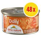 Fai scorta! Almo Nature Daily Menu 48 x 85 g Alimento umido per gatti