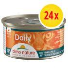 Fai scorta! Almo Nature Daily Menu 24 x 85 g Alimento umido per gatti