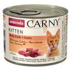 Fai scorta! Animonda Carny Kitten 12 x 200 g