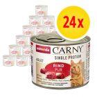 Fai scorta! Animonda Carny Single Protein Adult 24 x 200 g