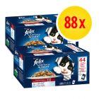 Fai scorta! Felix Le Ghiottonerie in gelatina 88 x 100 g