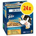 Fai scorta! Felix Sensations in Gelatina 24 x 100 g