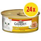 Fai scorta!Gourmet Gold Cuore Morbido 24 x 85 g