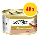 Fai scorta! Gourmet Gold Tortini 48 x 85 g