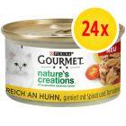 Fai scorta! Gourmet Nature's Creations 24 x 85 g