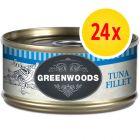 Fai scorta! Greenwoods Adult 24 x 70 g