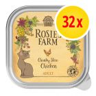 Fai scorta! Rosie's Farm Adult 32 x 100 g