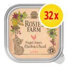Fai scorta! Rosie's Farm Kitten 32 x 100 g