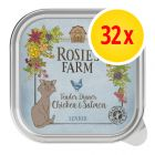 Fai scorta! Rosie's Farm Senior 32 x 100 g