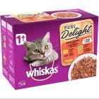 Fai scorta! Whiskas 1+ Adult Pure Delight buste 48 x 85 g Umido per gatti