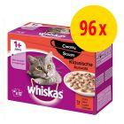 Fai scorta! Whiskas 1+ buste 96 x 100 g