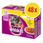 Fai scorta! Whiskas Junior buste 48 x 100 g
