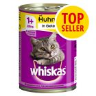 Fai scorta! Whiskas 1+ lattine 24 x 400 g