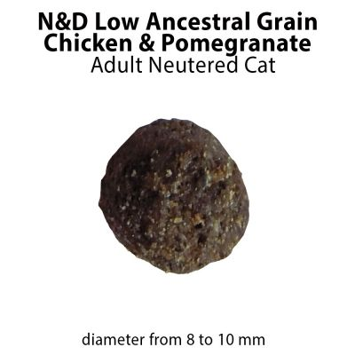 Farmina N&D Ancestral Grain Neutered poulet, grenade pour chat