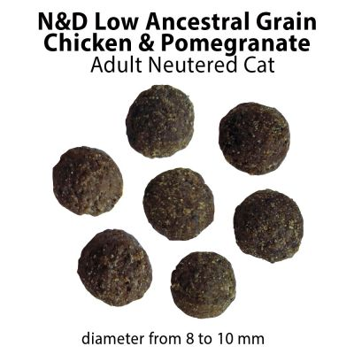 Farmina N&D Cat Low Ancestral Grain Neutered, kurczak i owoc granatu