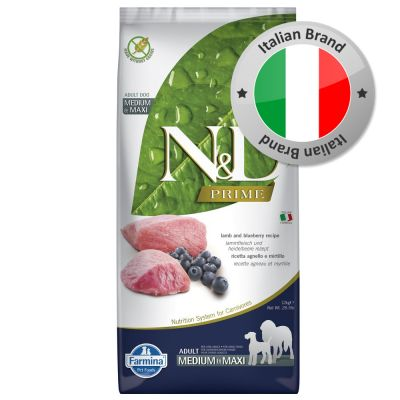 Farmina N&D Grain Free Adult Medium Agnello e Mirtillo