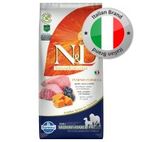 Farmina N&D Grain Free Pumpkin Adult Medium/Maxi Agnello, Zucca e Mirtillo
