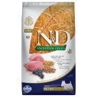 Farmina N&D Low Grain Lam og Blåbær Adult Mini
