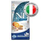 Farmina N&D Ocean Adult Medium/Maxi Merluzzo, Farro, Avena e Arancia