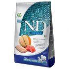 Farmina N&D Ocean Medium & Maxi Salmone, Merluzzo e Melone cantalupo