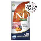 Farmina N&D Pumpkin Puppy Medium & Maxi Agnello e Mirtilli Grain Free