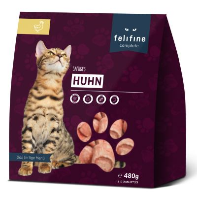 Felifine Complete Nuggets pour chat 2 kg + 400 g offerts !