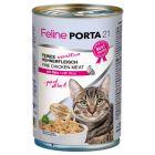 Feline Porta 21 comida para gatos - 6 x 400 g