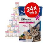 Feline Porta 21 Maaltijdzakjes Voordeelpakket 24 x 100 g