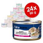 Feline Porta 21 mešani varčni paket 24 x 90 g