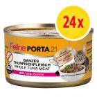 Feline Porta 21 -säästölajitelma 24 x 90 g