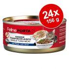 Feline Porta 21 -säästöpakkaus 24 x 156 g
