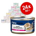 Feline Porta 21 бонус опаковка  24 x 90 г