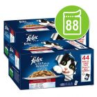 Felix As Good As It Looks Pouches in Jelly Mega Pack 88 x 100g