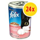 Felix Cat Food Cans Multibuy 24 x 400g
