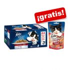 Felix Fantastic 44 x 100 g + Felix Party Mix snacks 60 g ¡gratis!