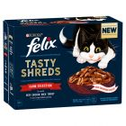 Felix Tasty Shreds 12 x 80g