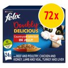 Felix As Good As It Looks - Doubly Delicious 72 x 100g
