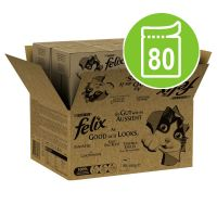 Felix As Good As It Looks Jumbo Pack 80 x 100g