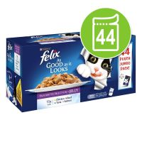 Felix As Good As It Looks Pouches in Jelly - 44 x 100g