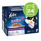 """Felix """"Aussi bon que beau"""" Junior 24 x 100 g pour chat"""