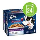 """Felix """"Aussi bon que beau"""" Senior 24 x 100 g pour chat"""