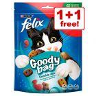Felix Cat Treats - Buy One, Get One Free!*