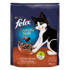Felix Crunchy & Soft, mięso