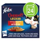 "Felix ""Doppelt lecker - so gut wie es aussieht"" Pouches 24 x 85 g"