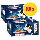 Felix Elke Dag Feest Vlees 88 x 100 g Voordeelpakket