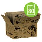 Felix Fantastic Jumbo csomag 80 x 100 g